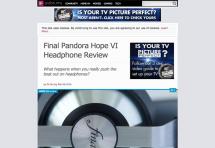"""Pandora Hope VI received """"Recommended Award"""" @AVForm (UK)!"""